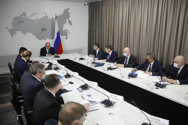 Михаил Мишустин 6 марта провел два совещания в Кемерово