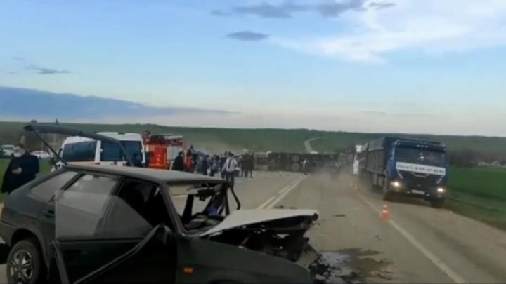 Ространснадзор проверит владельца автобуса, попавшего в ДТП на Ставрополье