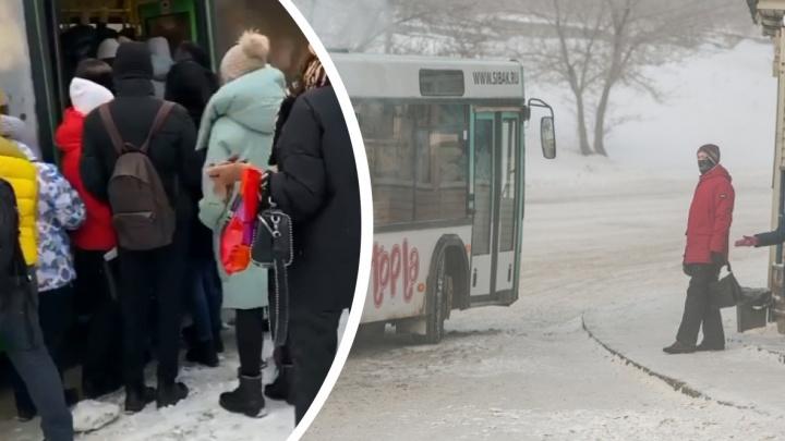«По утрам просто жесть»: почему в Покровке автобусы ходят битком