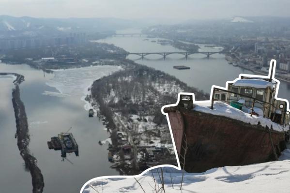 Про остров в центре Красноярска сегодня вспоминают редко, а на нем есть своя неприметная жизнь