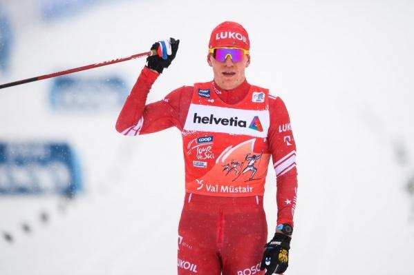 К концу соревнований Александр подошел с самым большим отрывом от второго места в общем зачете за всю историю «Тур де Ски»