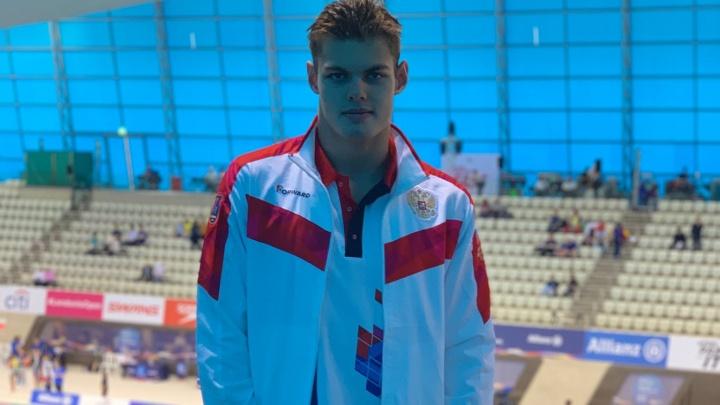 Пловец из Башкирии Андрей Николаев взял серебро в первый день Паралимпиады