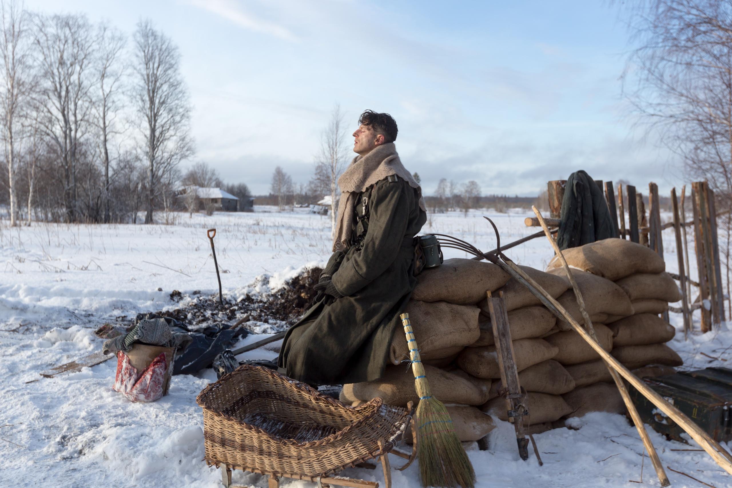 Съемки фильма о войне в Архангельской области