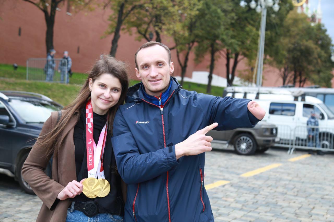 Андрей Калин с супругой Марией