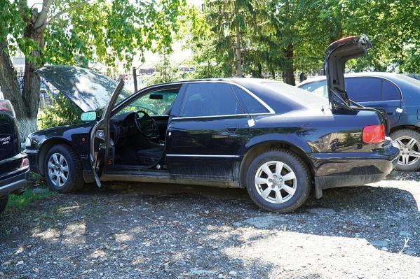 Купленная зауральцем Audi находилась в розыске с 2004 года