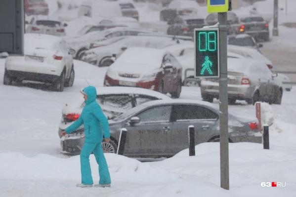 Снегопады в выходные сменятся холодной погодой