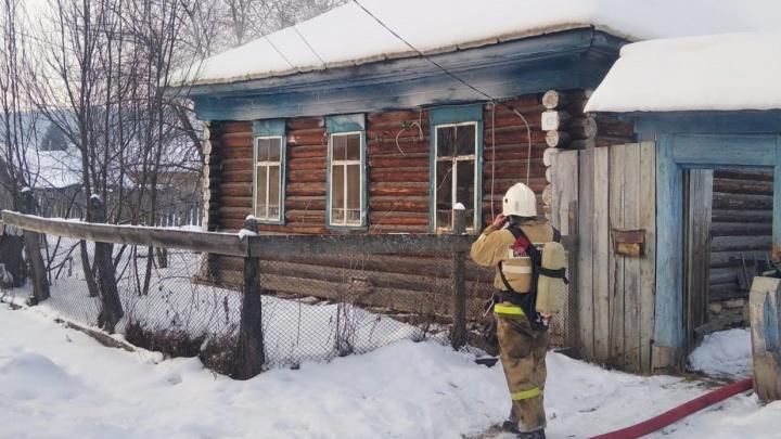 В Башкирии за минувшую ночь в пожарах погибли 3 человека