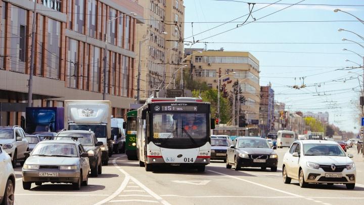 В Краснодаре планируют сделать выделенные полосы еще на четырех участках