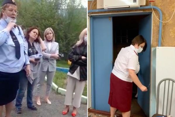 Три ведомства закрывали лагерь под Красноярском
