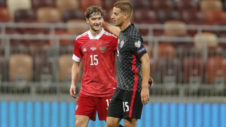 Сборная России сыграла вничью с Хорватией в дебютном матче Карпина
