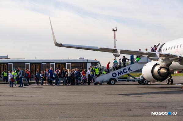 Авиакомпании тоже решили не менять расписание из-за погоды на российских курортах