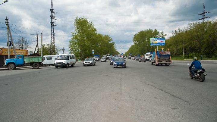 Стала известна цена строительства развязки в Матвеевке в Новосибирске — городской бюджет ее не потянет