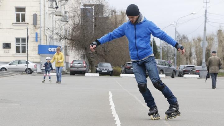 Часть верхней набережной Архангельска станет пешеходной в выходные дни и праздники