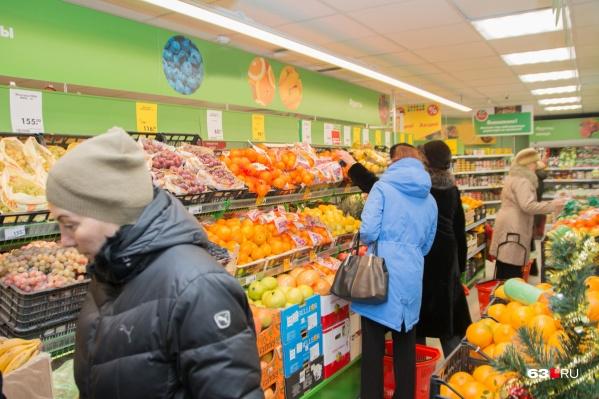 В Самаре работают больше 500 сетевых супермаркетов