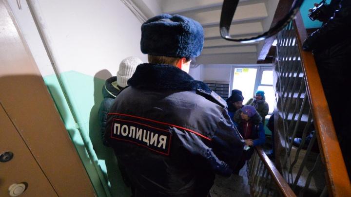 На Урале полицейский выстрелил в пьяного дебошира, который ножом угрожал жене и падчерице