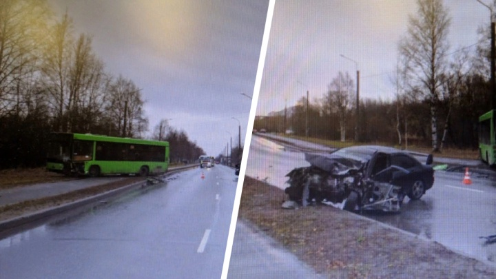 Водитель иномарки был пьян: подробности утренней аварии с автобусом на Ленинградском