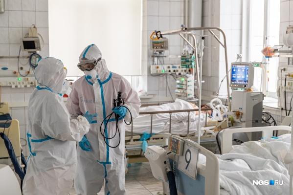 В реанимациях лежат 356 пациентов
