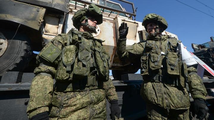 Командование ЦВО сообщило, что екатеринбургских военных не отправят в Карабах