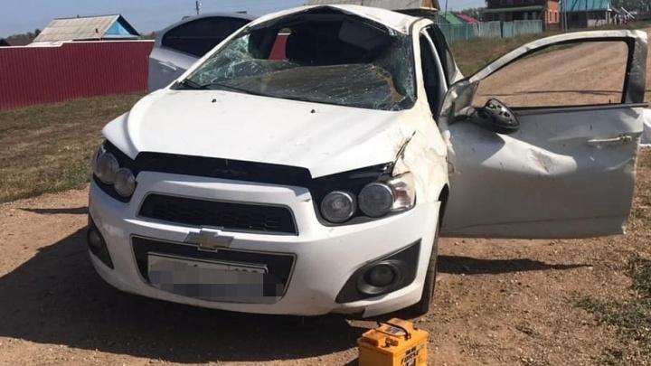 Погибла молодая пассажирка: в Башкирии зарегистрировали смертельное ДТП с Chevrolet Aveo