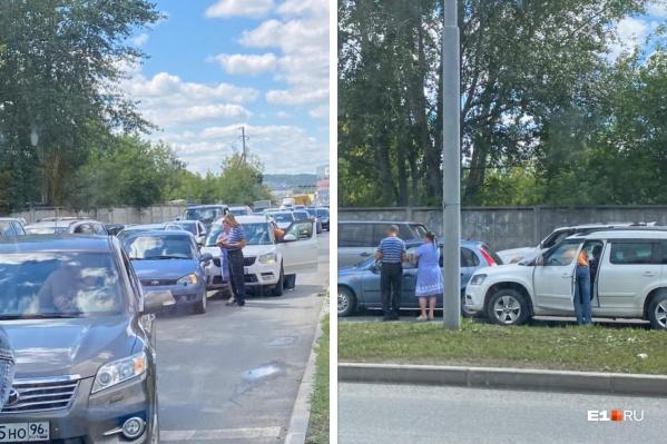 ДТП произошло на пересечении с улицей Рабочих