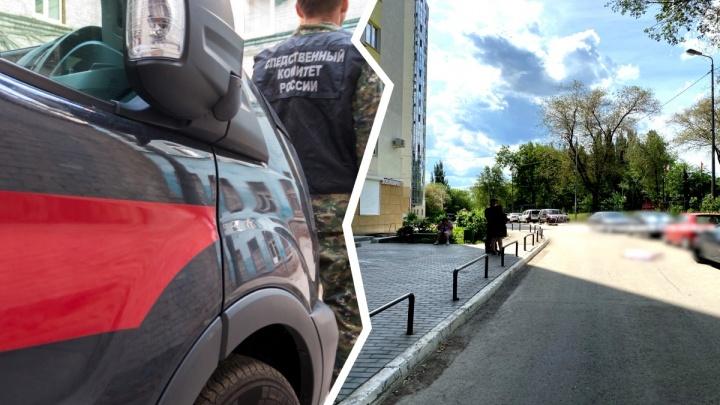 В Самаре с балкона многоэтажки выпала 16-летняя девочка