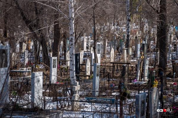 Места на действующих кладбищах Самары могут закончиться уже через 5 лет