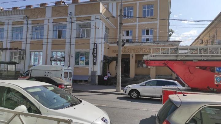 В Самаре эвакуировали людей из театра «Камерная сцена»