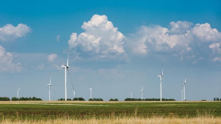 В Самарской области началось строительство комплекса ветроэлектростанций