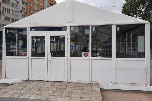 Модульные павильоны вытесняют палатки с улиц областной столицы