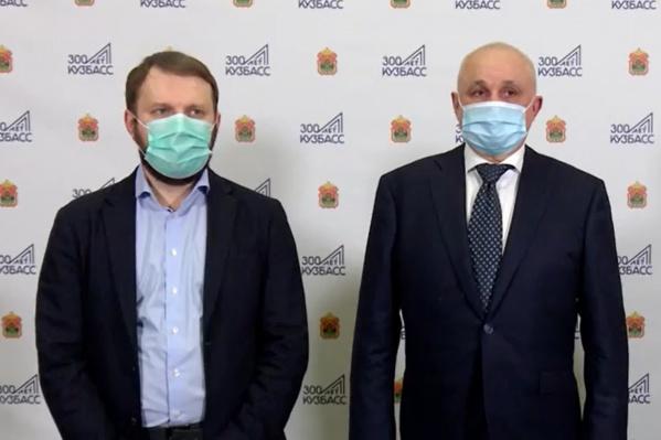 В Кузбасс Максим Орешкин прибыл в рамках запуска проекта национальной социальной инициативы