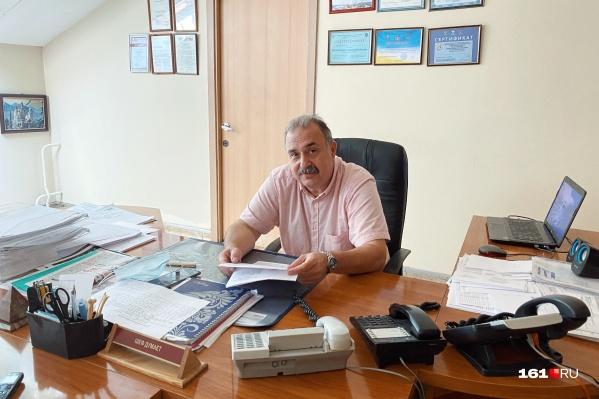 Борис Тер-Григорьянц возглавлял поликлинику почти 14 лет