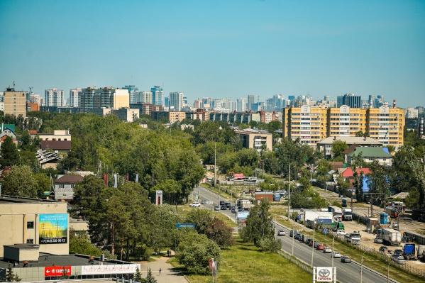Юг Екатеринбурга становится все более привлекательным для жилья