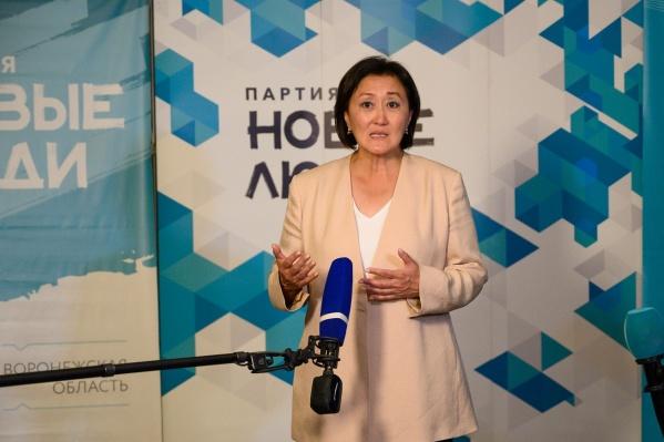Сардана Авксентьева, представитель партии «Новые люди»