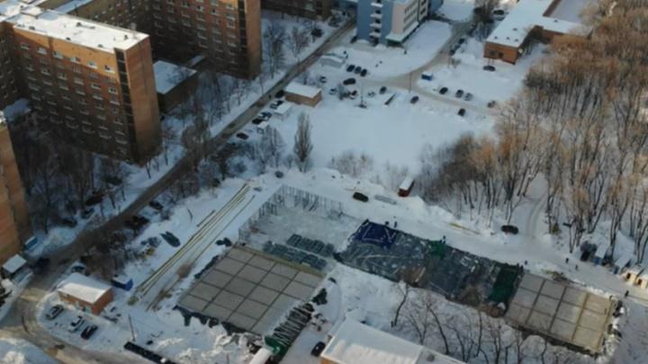 Видео: в Самаре наметился первый этаж нового COVID-госпиталя