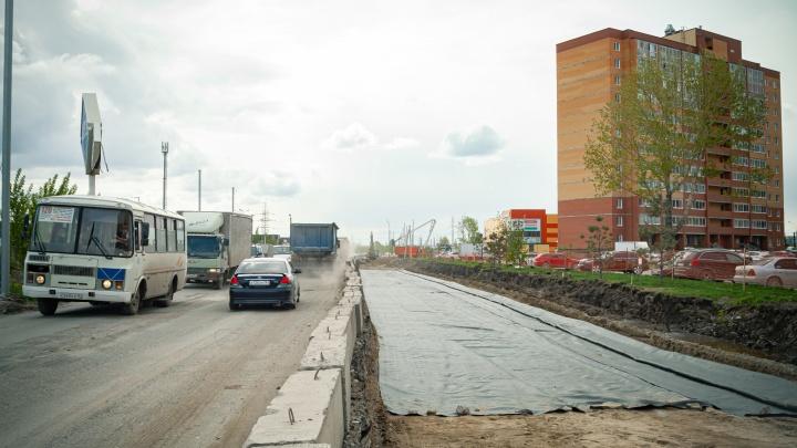 На Большой остановили строительство дороги — с чем это связано