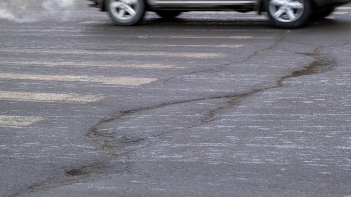 Текслер объявил сбор жалоб на разбитые дороги. Давайте поможем ему координатами самых проблемных мест