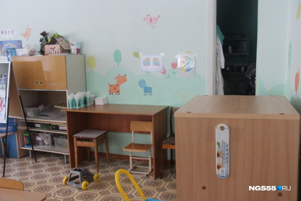 """Минимальная температура в детском саду была <nobr class=""""_"""">+14 градусов</nobr>"""