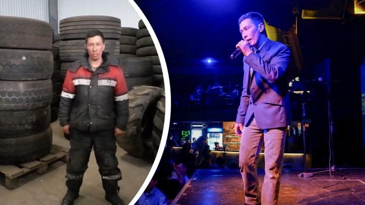 Челябинский шиномонтажник, взорвавший TikTok песнями на фоне покрышек, выступил в ночном клубе