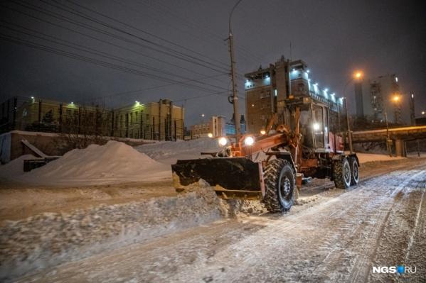 За неделю с магистралей вывезли144 тысячи кубов снега