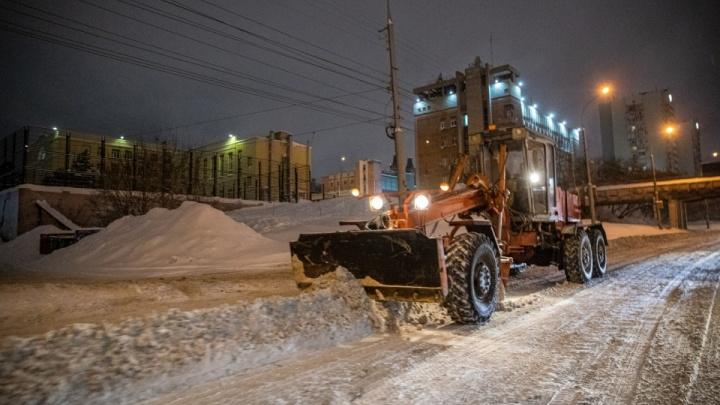В мэрии Новосибирска перечислили дороги, которые чистили специально к приезду Мишустина