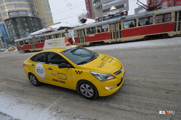 В последнее время количество аварий с участием такси увеличилось