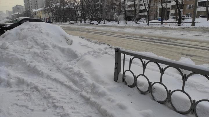 Алексей Валерьевич, разберитесь: прокуратура указала временному мэру Екатеринбурга на проблемы с уборкой улиц