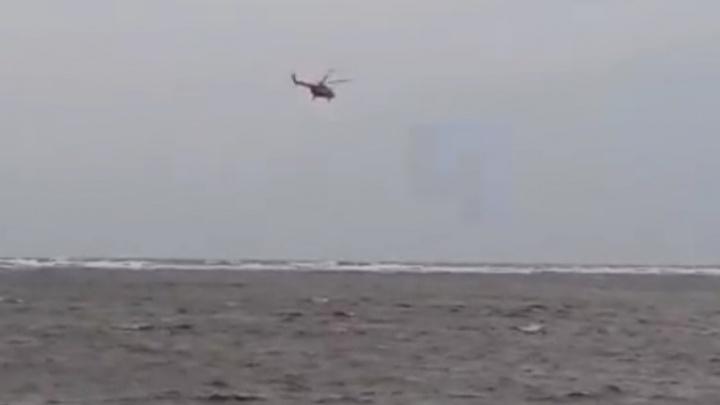 Появилось видео с места крушения судна «Фаворит»