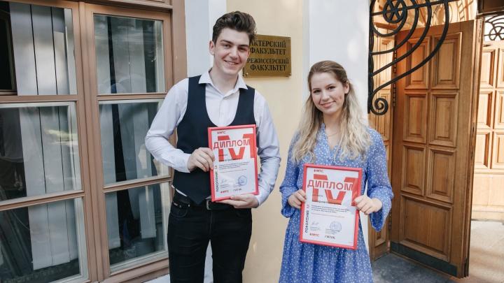 Юный актер из Шарыпово стал победителем «Мастерской ГИТИС» проекта «Поколение М»