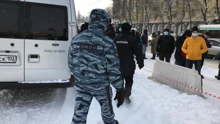 В Уфе полицейские намерены устроить «массовую зачистку» участников несогласованной акции в поддержку Навального