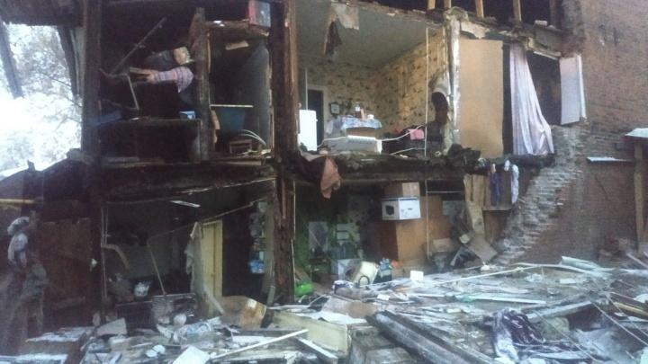 В Самаре обрушился жилой дом