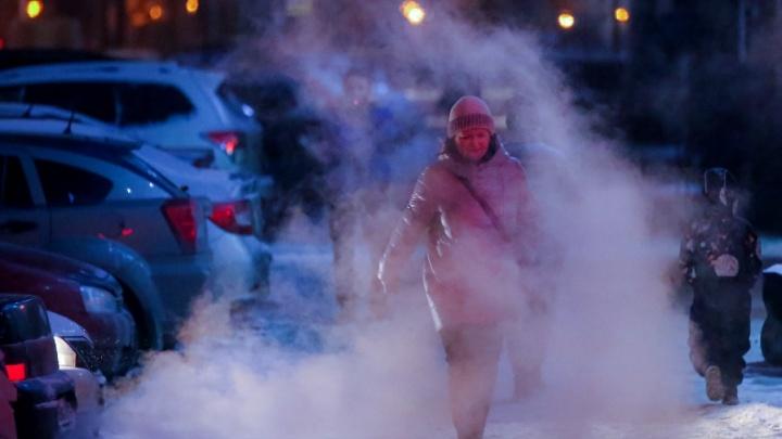 В Башкирии сегодня ночью похолодает до -40 градусов
