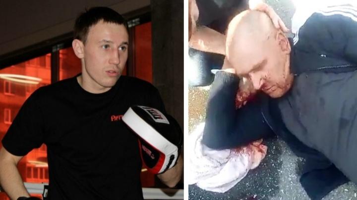 На Урале боксер одним ударом покалечил человека и остался безнаказанным. Конфликт попал на видео