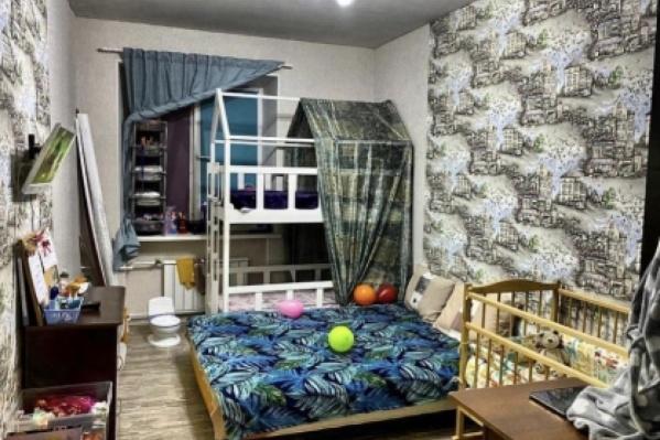 Квартира, в которой жила няня с детьми