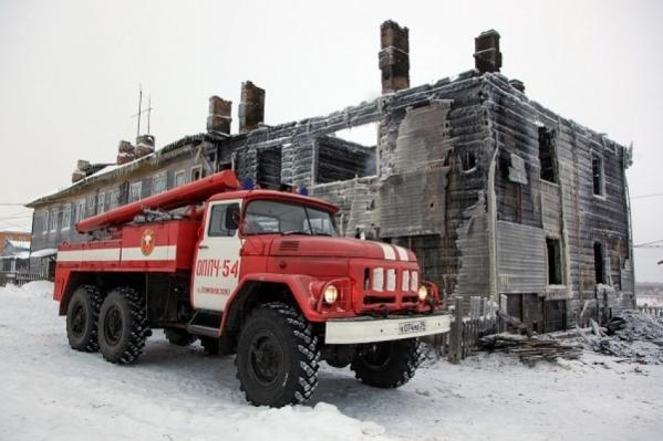 Больше всего людей в этом году скончалось при пожаре в Ломоносово Холмогорского района